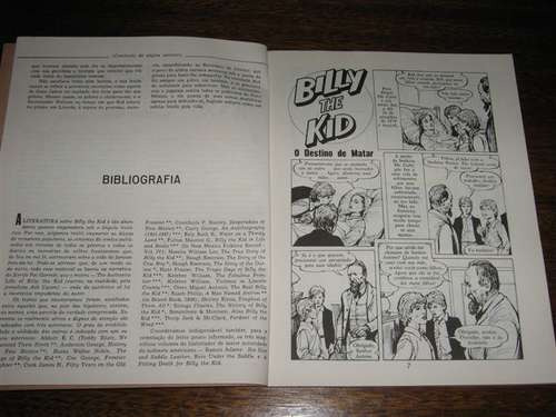 album billy the kid  série personagens do oeste vol.1 ebal