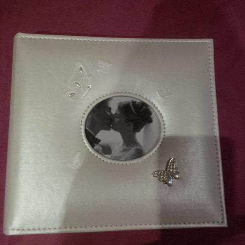 álbum boda foto 10x15 cm  semi cuero beige   160 fotos