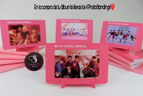 album bts map of the soul + incluye photostanding + regalos.