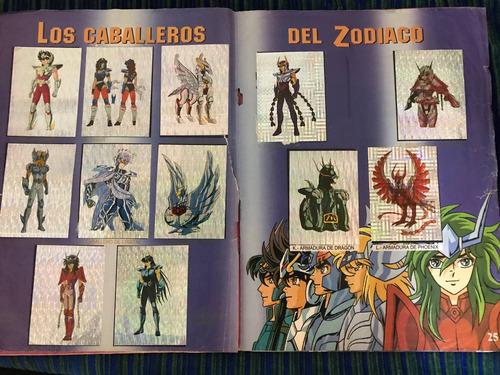 álbum caballeros del zodiaco completo