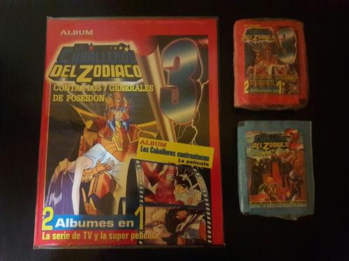 album caballeros del zodiaco - set completo a pegar