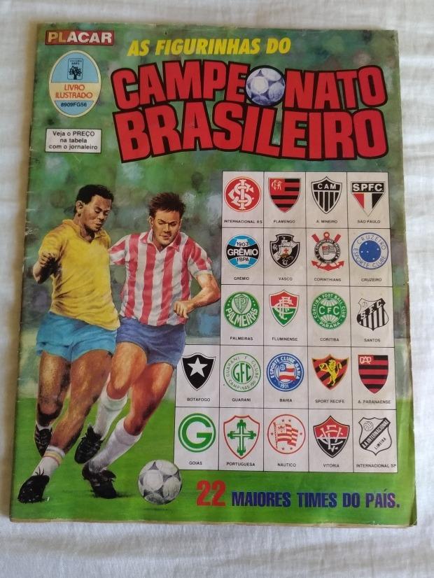 058afe0c9434b Álbum Campeonato Brasileiro 1989. Difícil Achar Neste Estado - R ...