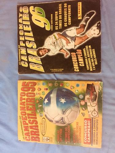 álbum campeonato brasileiro 1995 e 1996