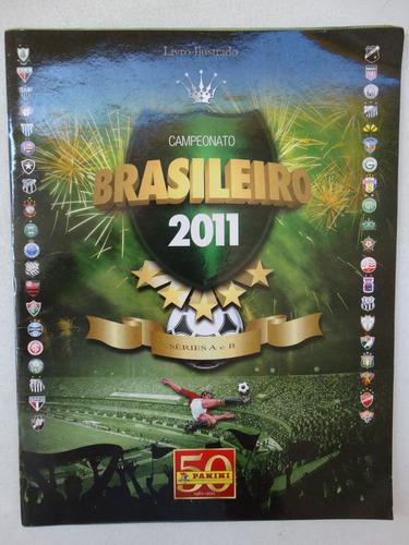 album campeonato brasileiro 2011! vazio! muito novo!
