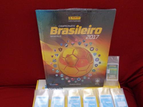 album campeonato brasileiro 2017 completo capa dura + brinde