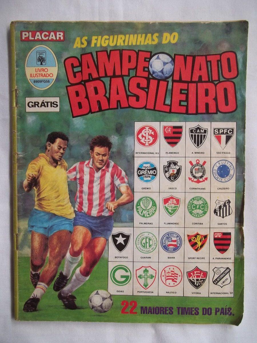 13c03e789a4df álbum campeonato brasileiro 89 falta 4 figurinhas ft grátis. Carregando zoom .