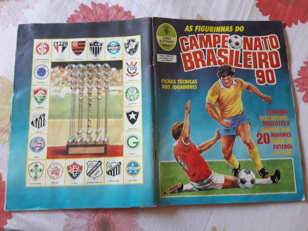 51e6a5ac63965 album campeonato brasileiro 90 1990 original completo. Carregando zoom.