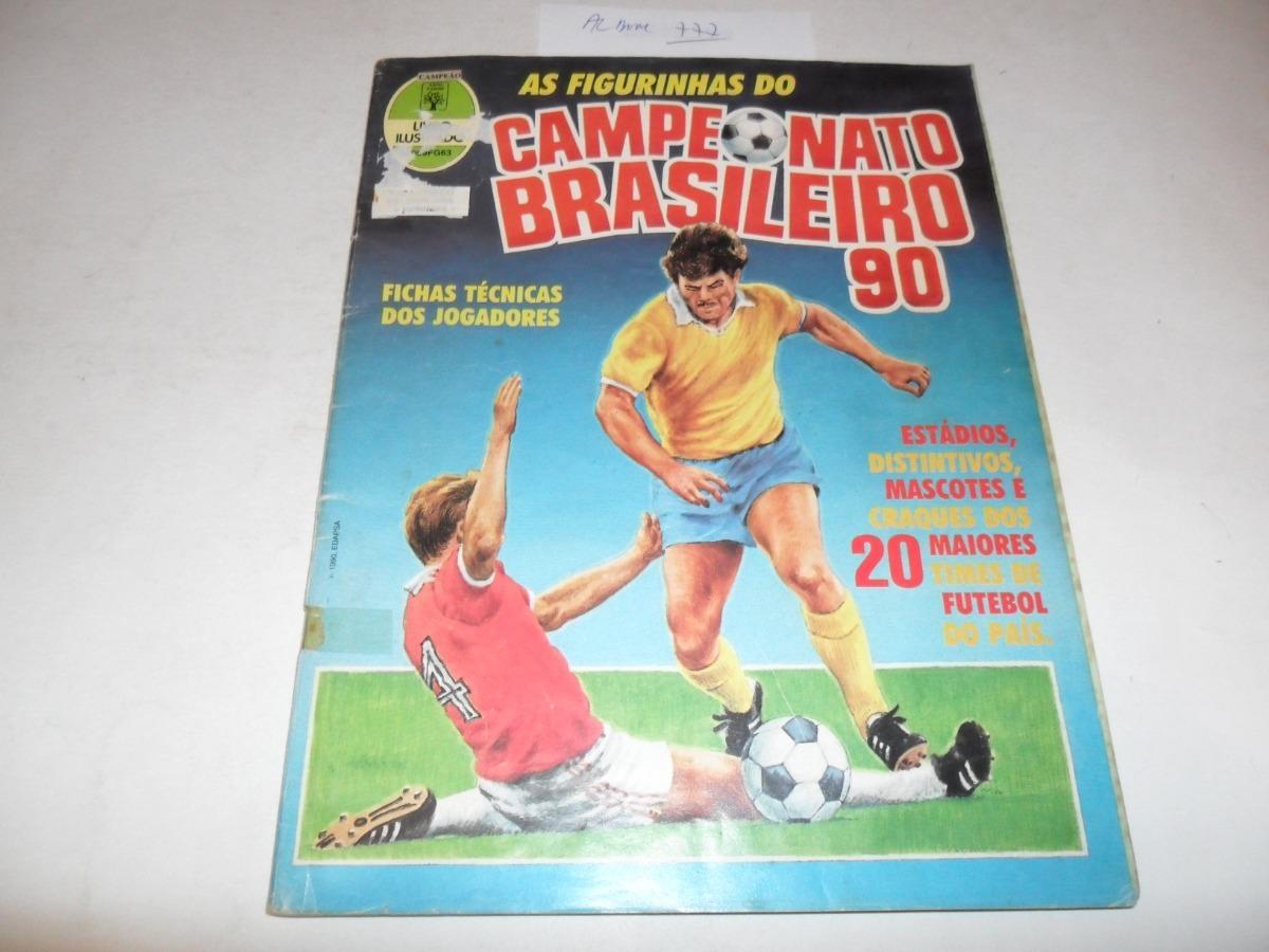 807f240b0bce2 Álbum Campeonato Brasileiro 90 (abril-panini) - A777 - R  350