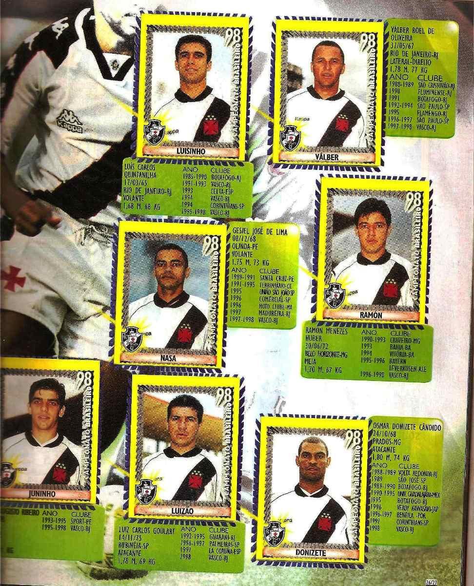 79cc087e926fb album campeonato brasileiro 98 completo. Carregando zoom.