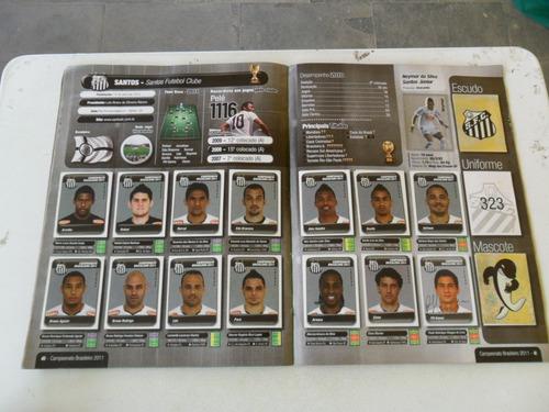 album campeonato brasileiro de 2011! panini falta 20 de 640!