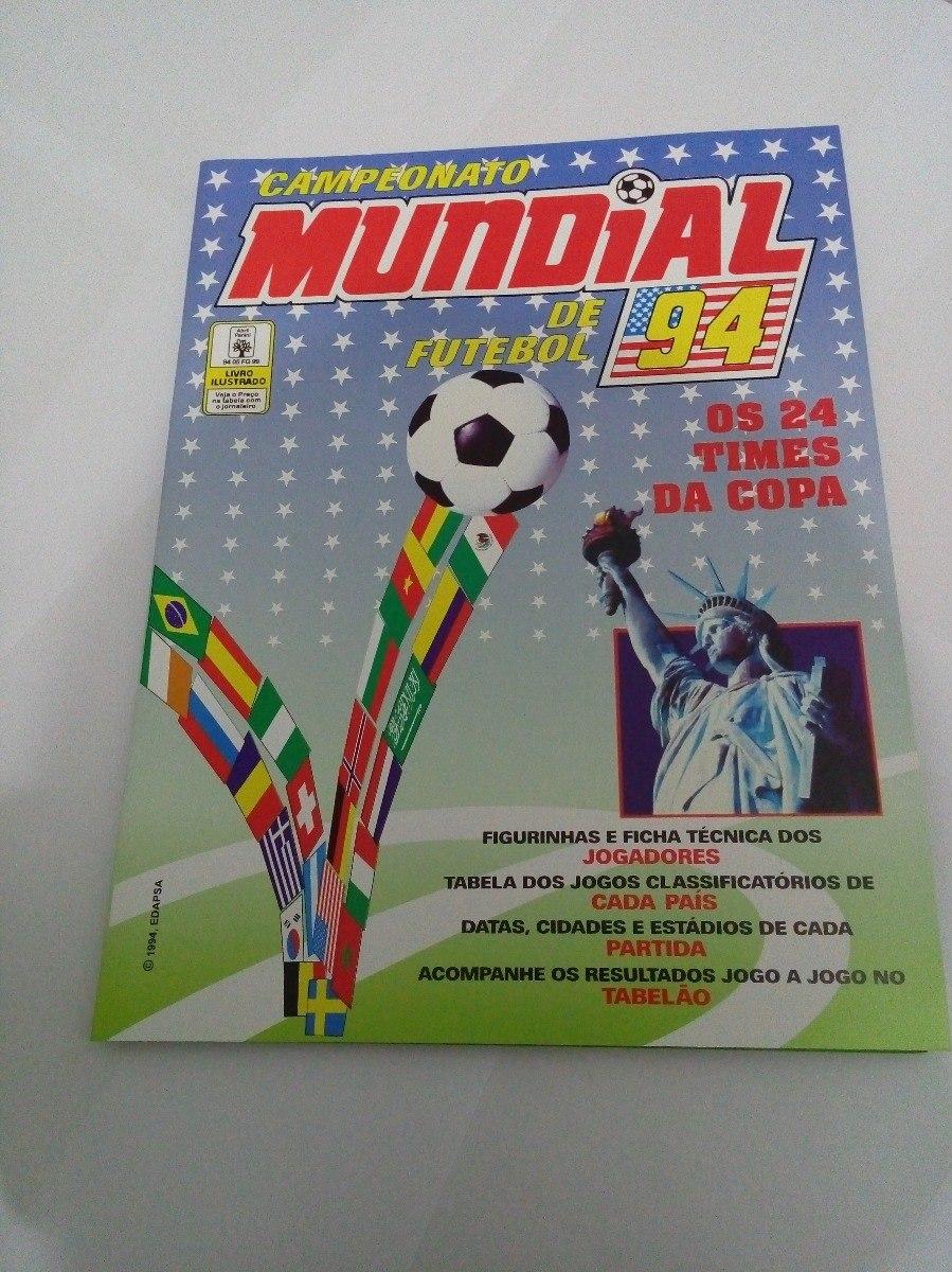 5231a559ee álbum campeonato mundial 94 1994 - cnb2. Carregando zoom.