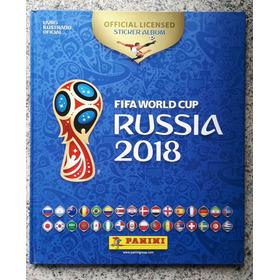 Álbum Capa Dura Copa Do Mundo 2018 - Completo - Para Colar