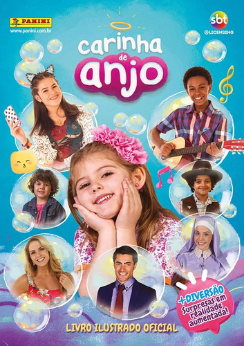 album carinha de anjo + 40 figurinhas dif. por r$ 13,99