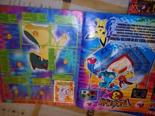 album casi vacio pokemon 3