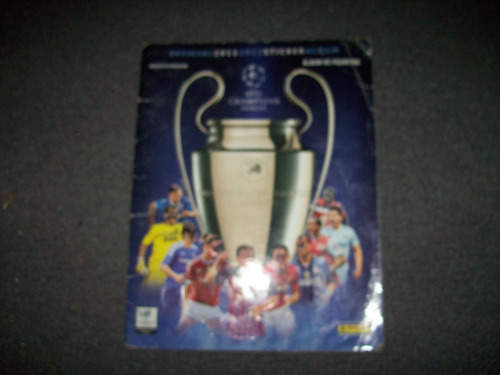 album champions 2011/12 tiene 222 figus  - no envio