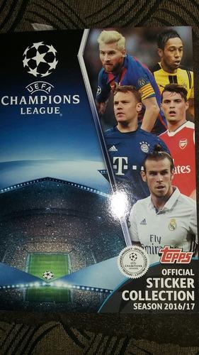 album champions league 2016/17 completo las 590 figuritas