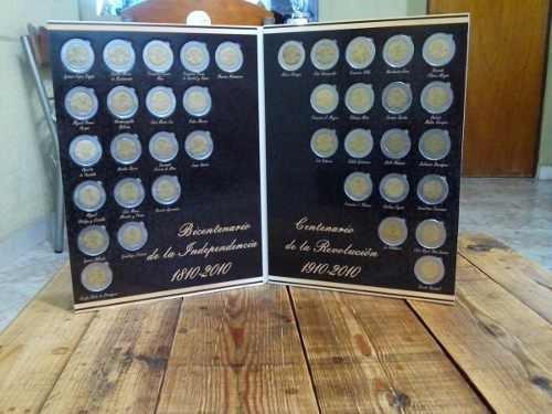album coleccion completa de  monedas bicentenario