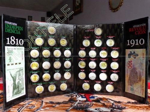 album coleccionador de monedas de 5 pesos centenario tre lqe