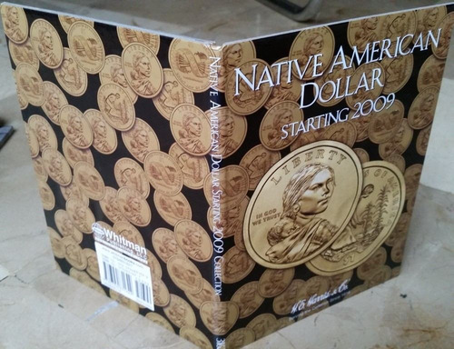 album coleccionador harris monedas dolar nativos usa 2009