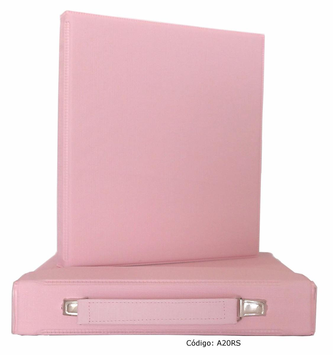 Lbum com maleta fotos 15x21 ou 20x25 rosa frete - Album para guardar fotos ...