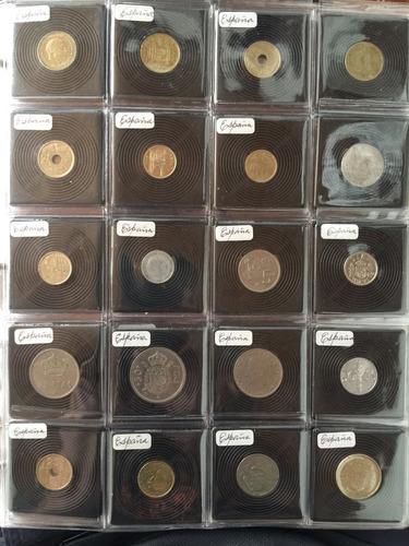album completo con 400 monedas del mundo