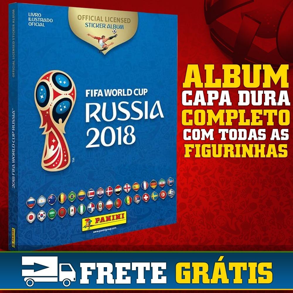 Panini Campeonato Brasileiro: Álbum Completo Copa Do Mundo 2018 Rússia Figurinhas Panini