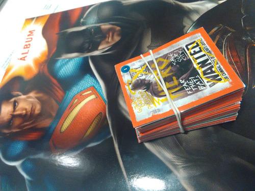 album completo superman v/s batman a pegar oferta