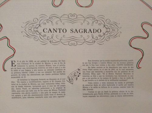 álbum conmemorativo del himno nacional mexicano 1854-1954
