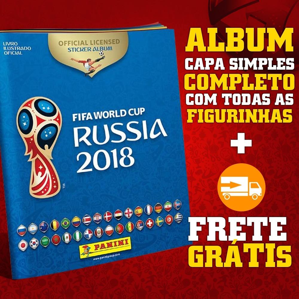 Panini Campeonato Brasileiro: Álbum Copa 2018 Completo Panini Todas Figurinhas Para