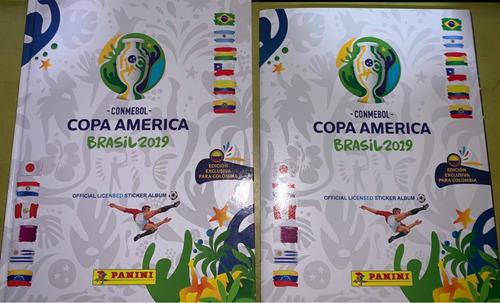 álbum copa america brasil 2019 pasta blanda