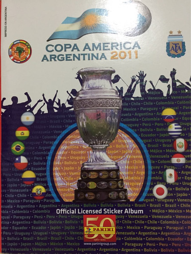 álbum copa américaamerica