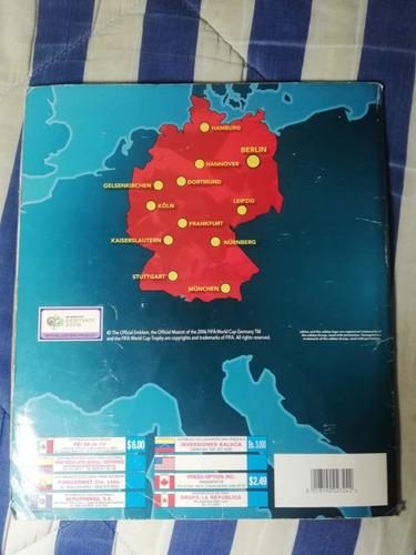 álbum copa del mundo fifa alemania 2006 panini