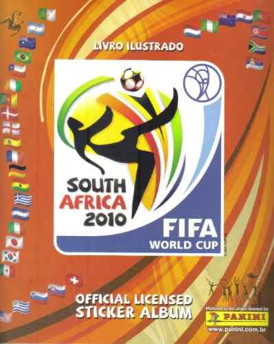 álbum copa do mundo 2010 completo para colar + fig. extras
