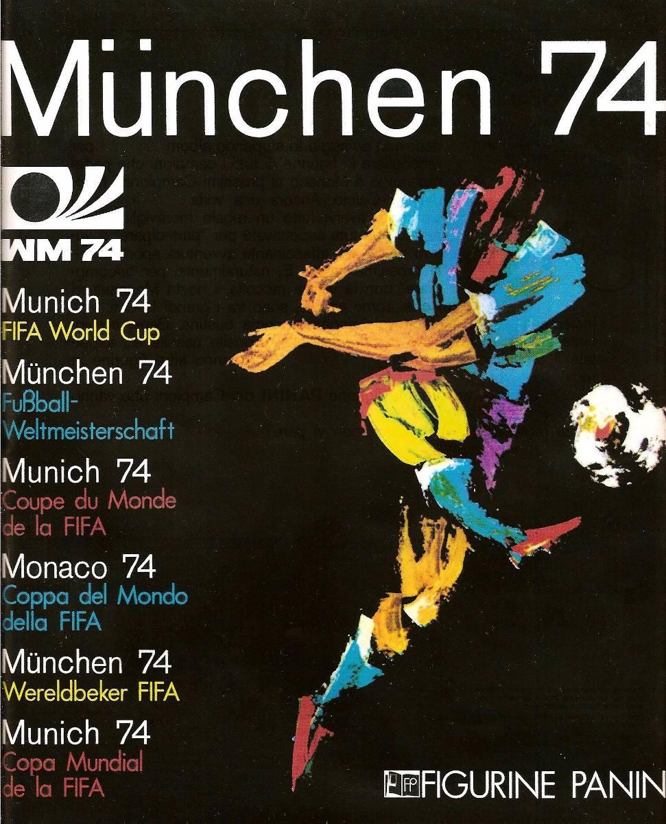 Álbum Copa Do Mundo De 1974 Editora Panini