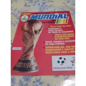 Album Copa Do Mundo. Itália 1990. Figuras Soltas Para Colar.