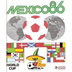Álbum Da Copa Do Mundo De 1986  Editora Panini - Scaner(d05)