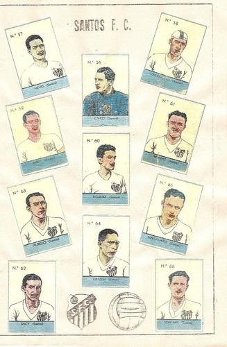 álbum das balas  a americana  futebol paulista 1938 - scaner