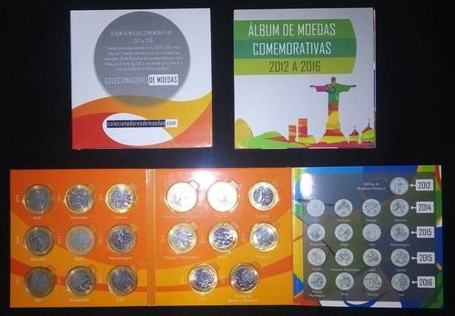 álbum das moedas de 1 real dos jogos olímpicos
