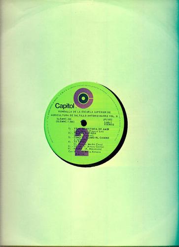 album de 3 discos- la rondalla de saltillo