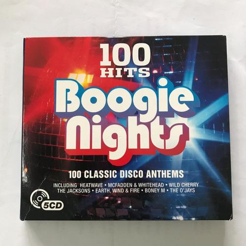album de 5 cd album 100 exitos originales boogie sony music