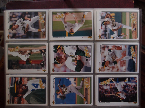 album  de barajitas upper deck 1992