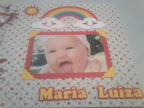 álbum de bebê menina