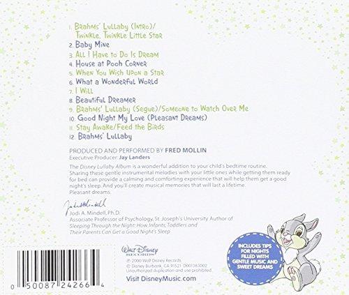 álbum de canciones de disney