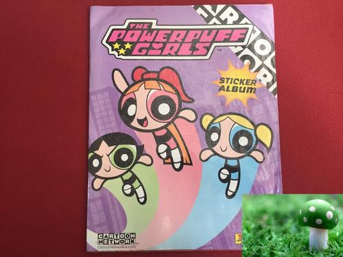 álbum de cromos las chicas superpoderosas panini, lleno