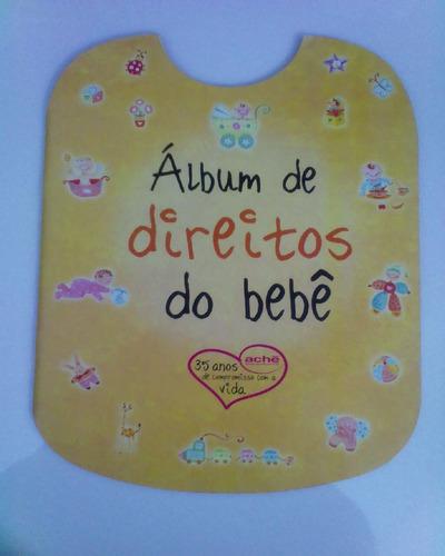 album de direitos do bebê,