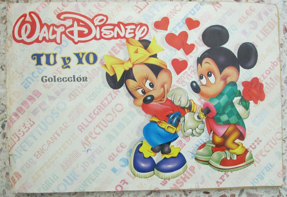 Album de estampas coleccion tu y yo walt disney for Http y