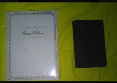 album de estampillas de coleccion