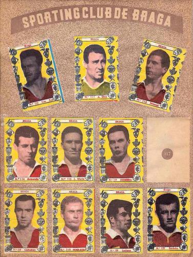 álbum de figurinha digitalizado atletas do futebol