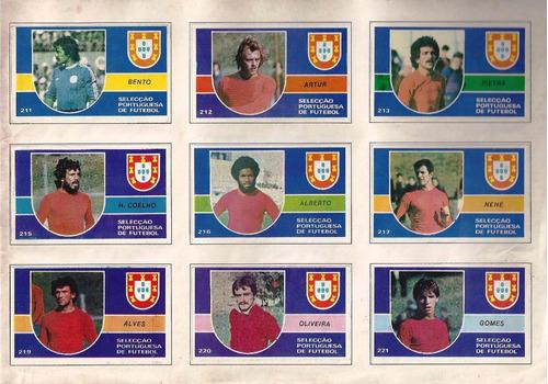 álbum de figurinha digitalizado campeões de 79