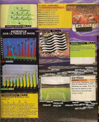 álbum de figurinha digitalizado campeonato brasilerio 2000